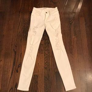 Frame white jeans size 24
